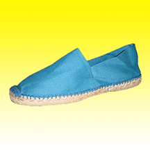 Classical Espadrille with Matching Color Hand Stitch