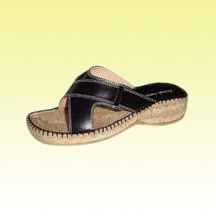 Slip-on Men's Leather Espadrilles (Alpargata) Made of Jute Braid Sole