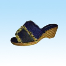 Open Toe Espadrilles Made of Jute Rope Sole