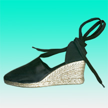 Wedge Espadrilles Made of Jute Sole