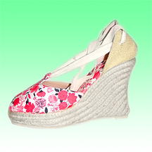 Ultra High Wedge Espadrilles (Alpargata) Made of Jute Rope Sole