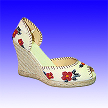 Espadrilles Made of Jute Rope Sole